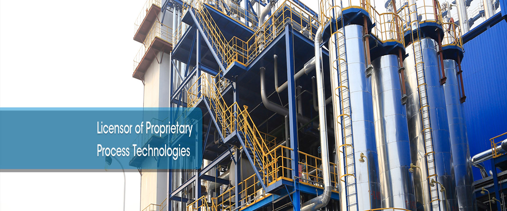Proprietary Technology and Plants-Chemical Plan