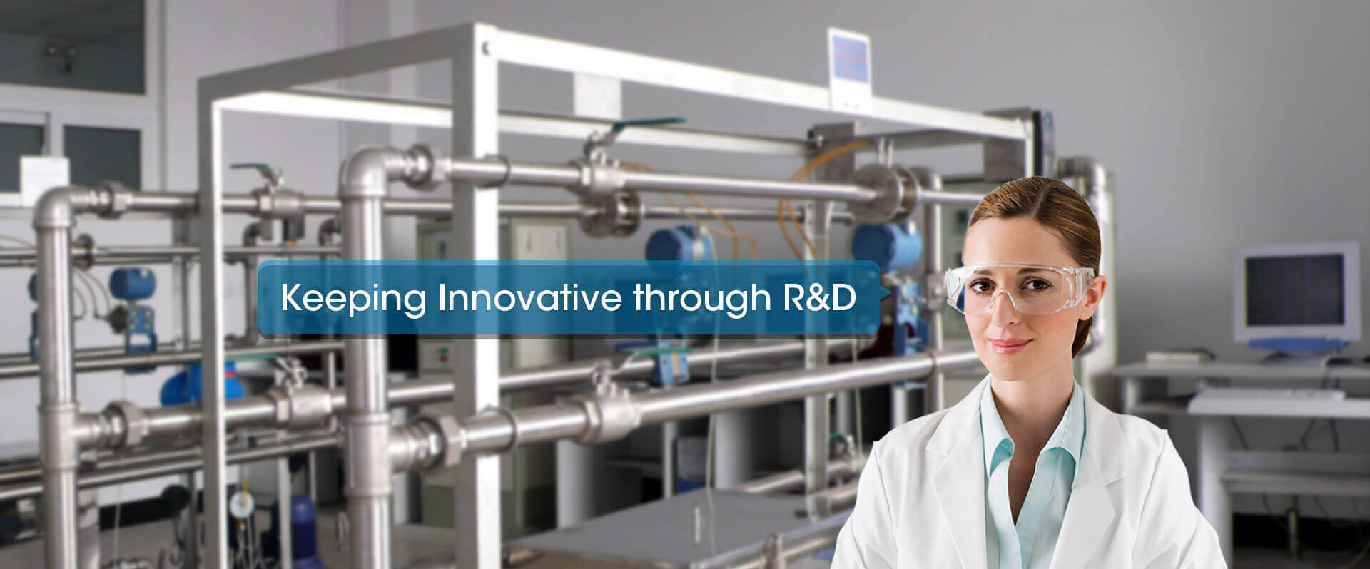 R&D-Chemical Plant